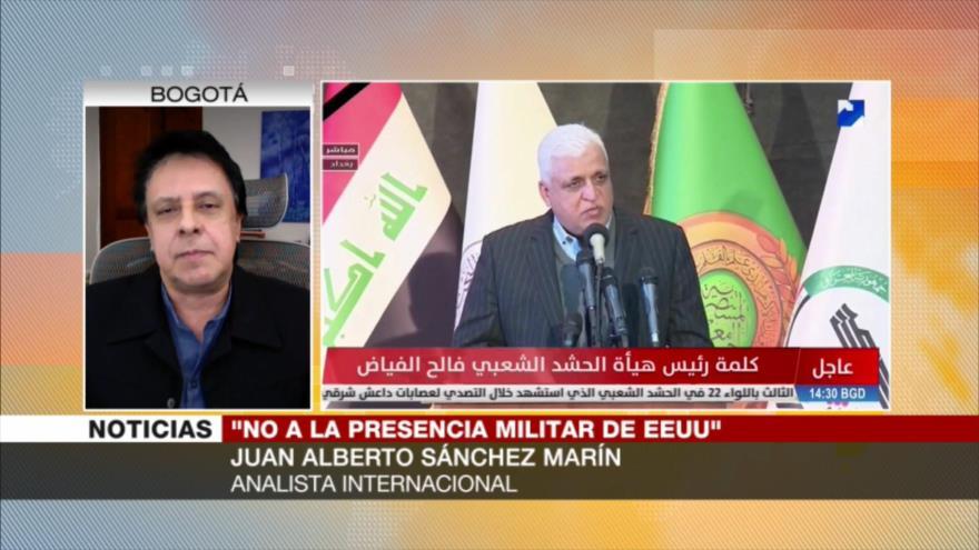 Sánchez: Inestabilidad de Irak no va a mejorar con la llegada de Biden