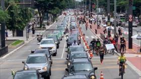 Vídeo: Derecha brasileña también se une a protestas contra Bolsonaro