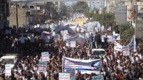 Yemeníes denuncian complicidad de EEUU en crímenes de agresores
