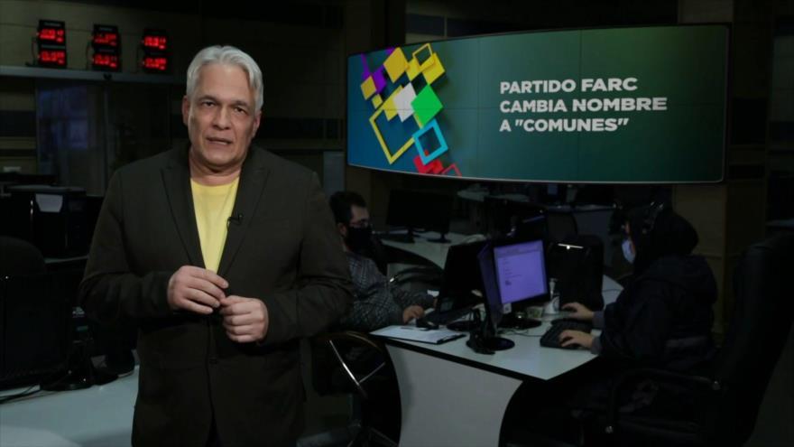"""Buen día América Latina: Partido FARC cambia nombre a """"comunes"""""""