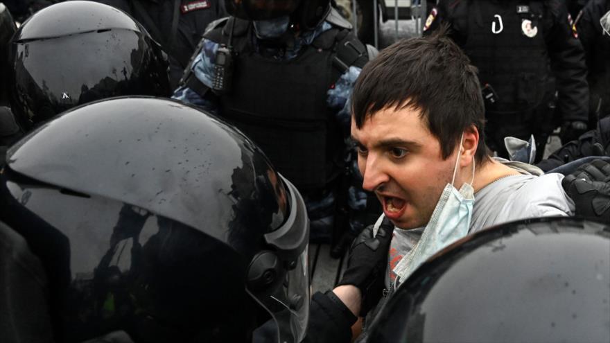 Así arranca EEUU su maquinaria para promover protestas en Rusia | HISPANTV