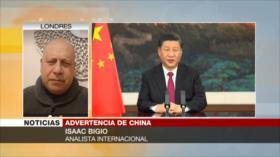 Bigio: Biden no verá a China como su primer enemigo