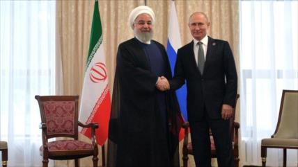 Rusia, decidida a expandir lazos y reforzar cooperaciones con Irán