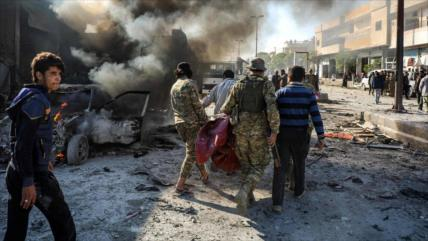 Ataque suicida en Siria deja al menos tres muertos y siete heridos