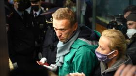 Moscú: Occidente utiliza a Navalni para desestabilizar a Rusia