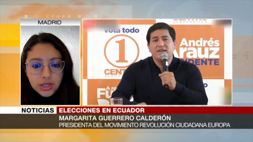 Guerrero: Preocupa que CNE dé por hecho un balotaje en Ecuador