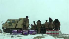 China dispone de nuevo vehículo todoterreno para apoyos logísticos