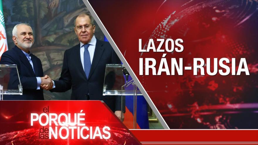 El Porqué de las Noticias: Lazos Irán-Rusia. Tensión China-EEUU. Elecciones de Ecuador