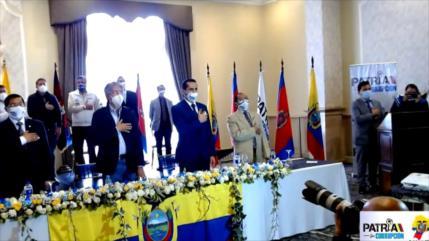 Sigue la campaña electoral en Ecuador siendo Arauz el favorito