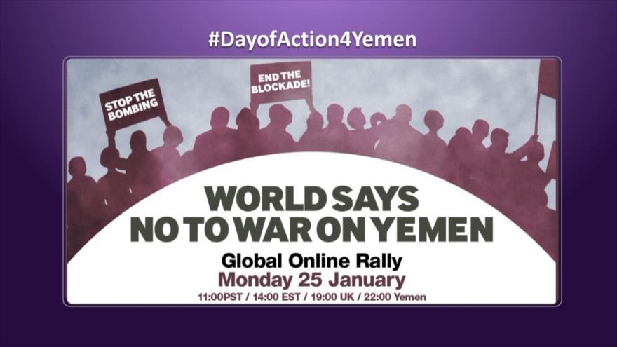 Etiquetaje: El mundo dice no a la guerra contra Yemen