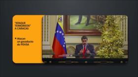 """PoliMedios: """"Ataque terrorista"""" a Caracas"""