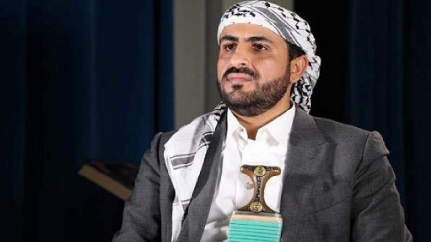 El portavoz del movimiento popular yemení Ansarolá, Mohamed Abdel Salam.
