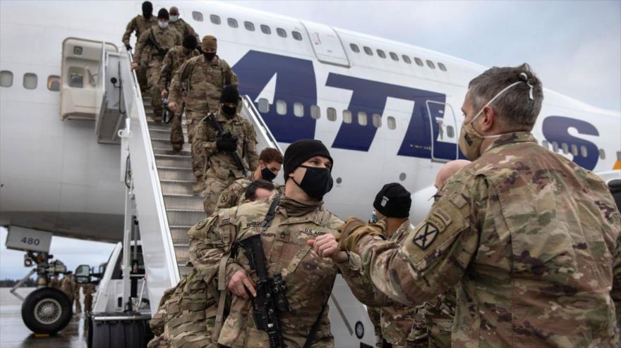 Tropas de EE.UU. regresan a Fort Drum, en Nueva York, el 10 de diciembre tras cumplir una misión de nueve meses en Afganistán. (Foto: Getty Images)