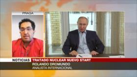 Dromundo: Prorroga de Nuevo START no resuelve tensión Rusia-EEUU