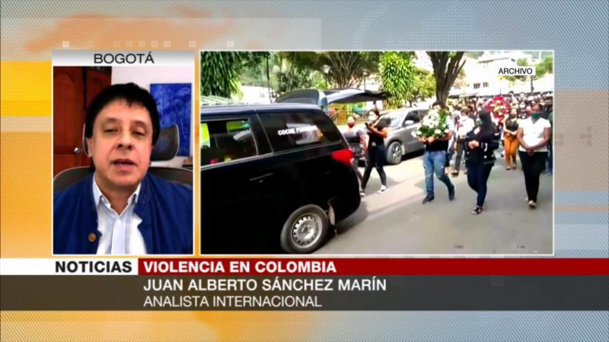 Sánchez: Gobierno colombiano es culpable de masacres de indígenas