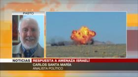 Santa María: Israel no podrá con el valiente y poderoso Irán