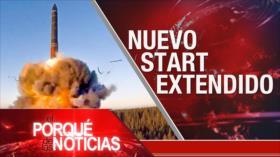 El Porqué de las Noticias: Represión israelí. Extensión de Nuevo START. Violencia en Colombia