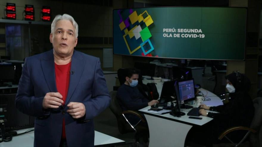Buen día América Latina: Perú: Segunda ola de COVID-19
