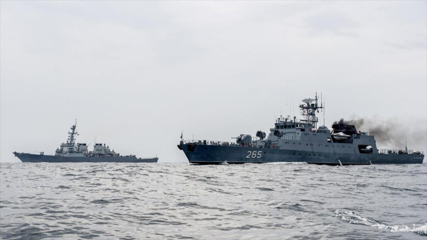 Rusia vigila el destructor USS Porter de EEUU en el mar Negro | HISPANTV