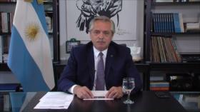 Presidente de Argentina interviene en el Foro de Davos