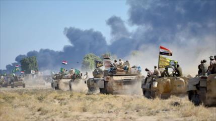 Irak destruye un centro de mando de Daesh cerca de Siria