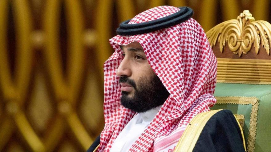 El príncipe heredero saudí, Muhamad bin Salman, en un foro en Riad, la capital, 10 de diciembre de 2019. (Foto: Reuters)