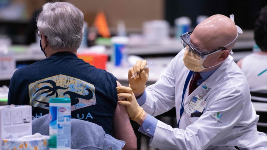 Denuncian racismo en EEUU: Minorías no reciben vacuna anti-COVID-19 | HISPANTV