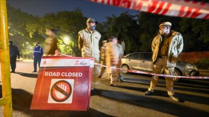 Explosión golpea cerca de la embajada de Israel en Nueva Delhi