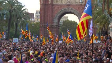 Cataluña concede la semilibertad a presos independentistas