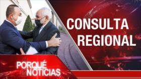 El Porqué de las Noticias: Futuro del acuerdo nuclear. Drama migratoria. Perú en crisis