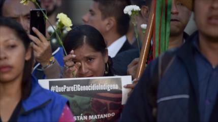 Sigue violencia en Colombia: Otros tres muertos y 400 desplazados