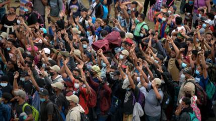 """EEUU advierte a los migrantes que """"nada cambió"""" en la frontera"""