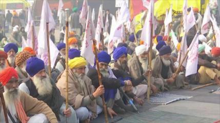 Agricultores indios realizan huelga de hambre por reformas agrarias