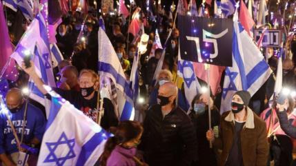 """Maariv: Israel, sumido en corrupción, """"no hay ni una persona sana"""""""
