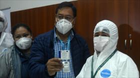 ONU elogia gestión de Luis Arce sobre vacunación contra COVID-19