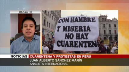 """COVID-19 revela en Perú crisis estructural de sistema injusto"""