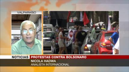 Hadwa: Todos los brasileños están en contra del 'imbécil' Bolsonaro