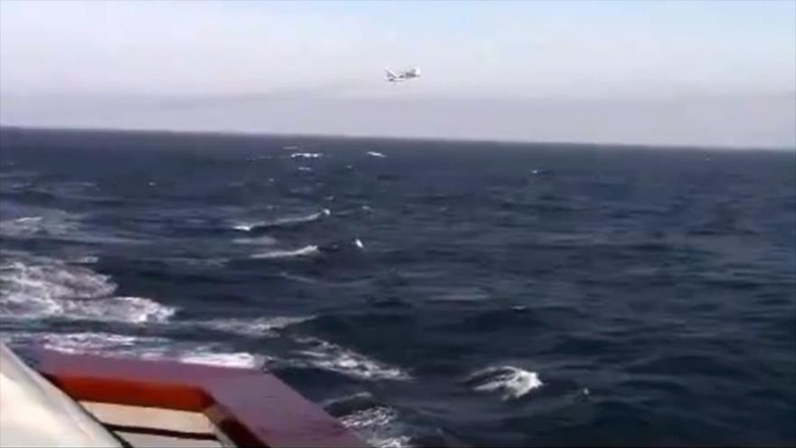 Vídeo: Caza ruso realiza un paso bajo cerca de destructor de EEUU