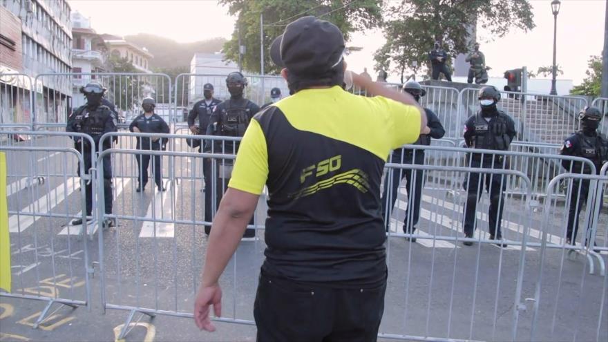 """Panameños protestan contra """"nueva normalidad"""" ante COVID-19"""