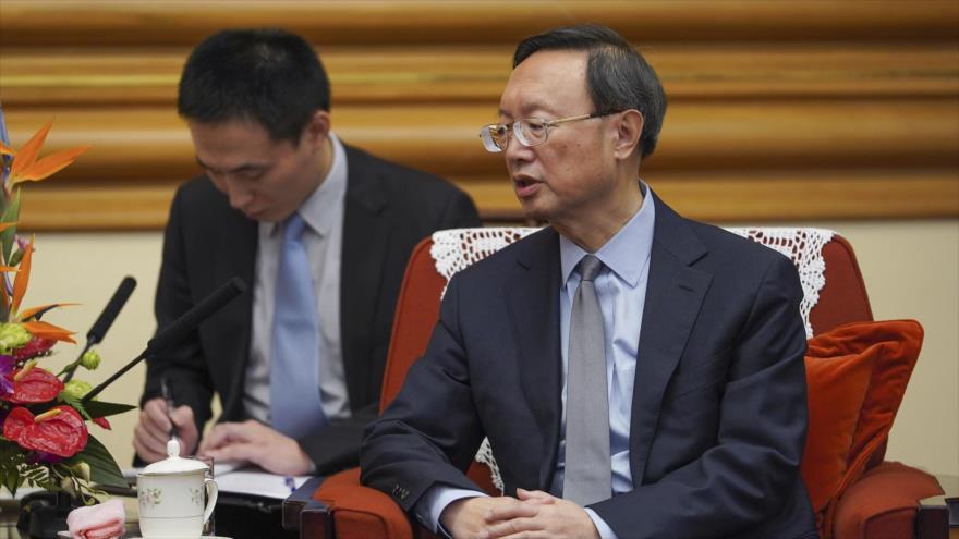 Yang Jiechi, el jefe del Departamento de Relaciones Exteriores del Partido Comunista de China.