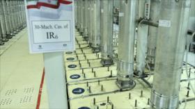 Irán instala 2 cascadas de 348 centrifugadoras en planta de Natanz