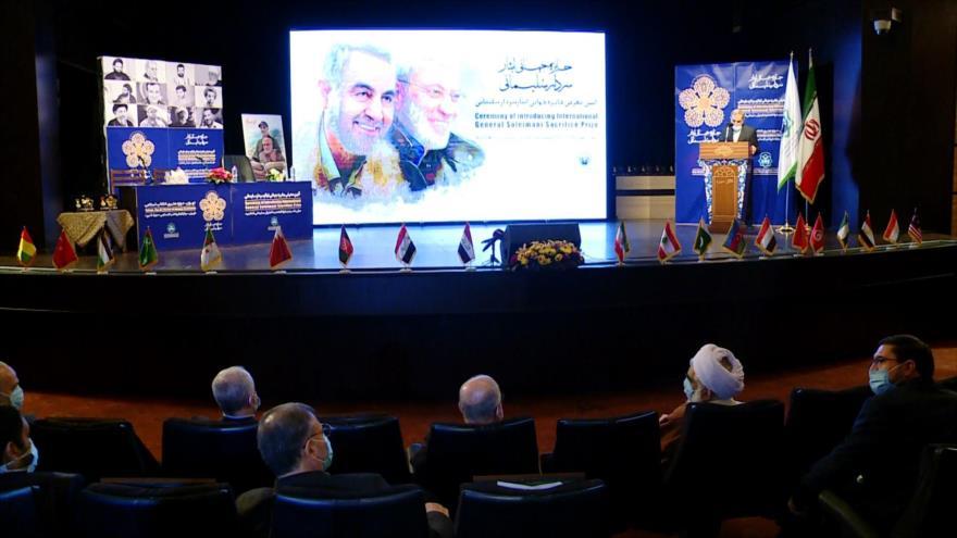 Irán entrega el 'Premio Internacional del General Soleimani'