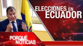 El Porqué de las Noticias: Programa nuclear de Irán. Caso Navalni. Elecciones en Ecuador