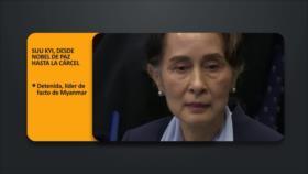 PoliMedios: Suu Kyi, desde Nobel de Paz hasta la cárcel
