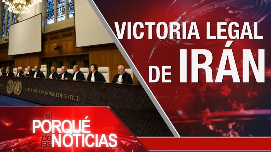 El Porqué de las Noticias: Acuerdo nuclear. Batalla judicial Irán-EEUU. Presidenciales ecuatorianas
