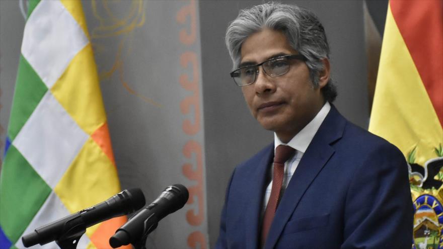 El Procurador General del Estado de Bolivia, Wilfredo Chávez.