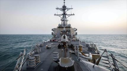 EEUU desafía a China y envía un destructor al estrecho de Taiwán