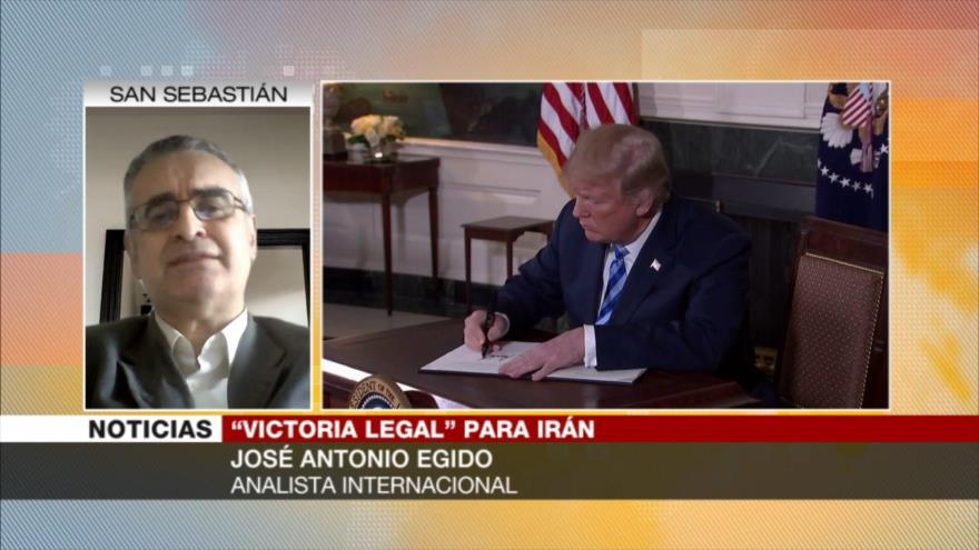 Egido: CIJ no se ha dejado intimidar por EEUU en litigio con Irán