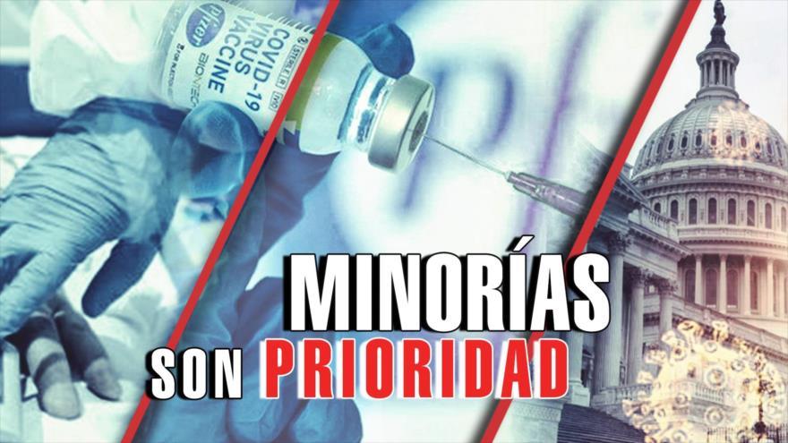 Detrás de la Razón: Desigualdad en la campaña de vacunación estadounidense contra coronavirus