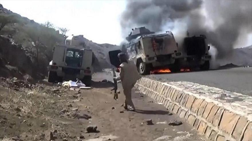 Yemen mata a 74 soldados y derriba 6 drones saudíes en enero   HISPANTV